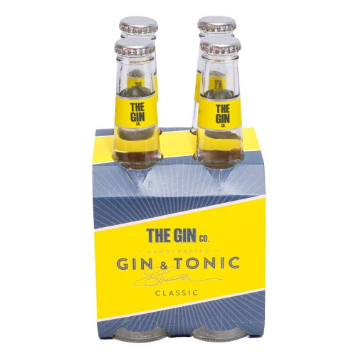 Gin & Tonic Classic 275ml (4 Pack)